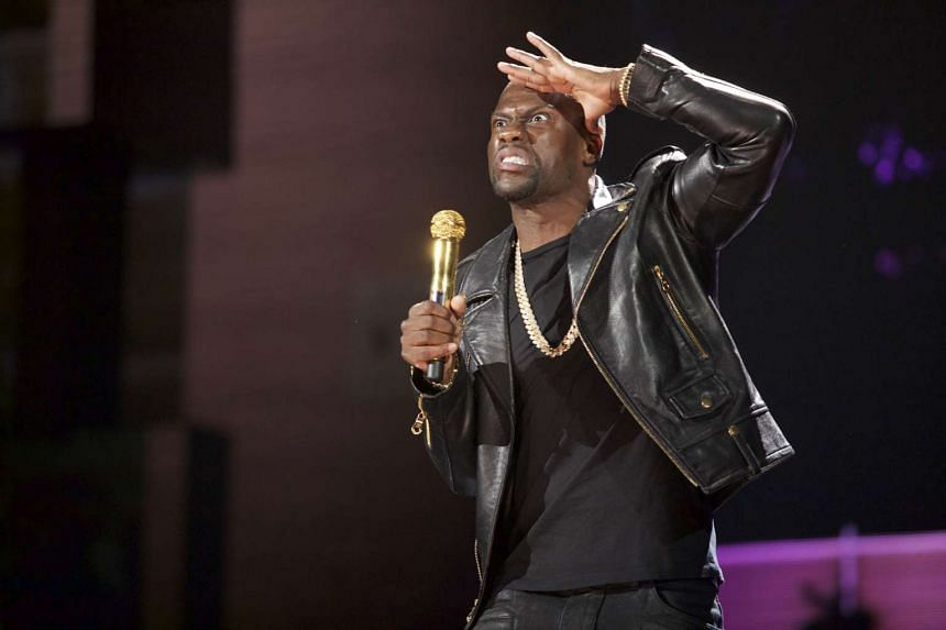 Kevin Hart will be in Singapore for his What Now? tour this evening at the Suntec Singapore Convention & Exhibition Centre.