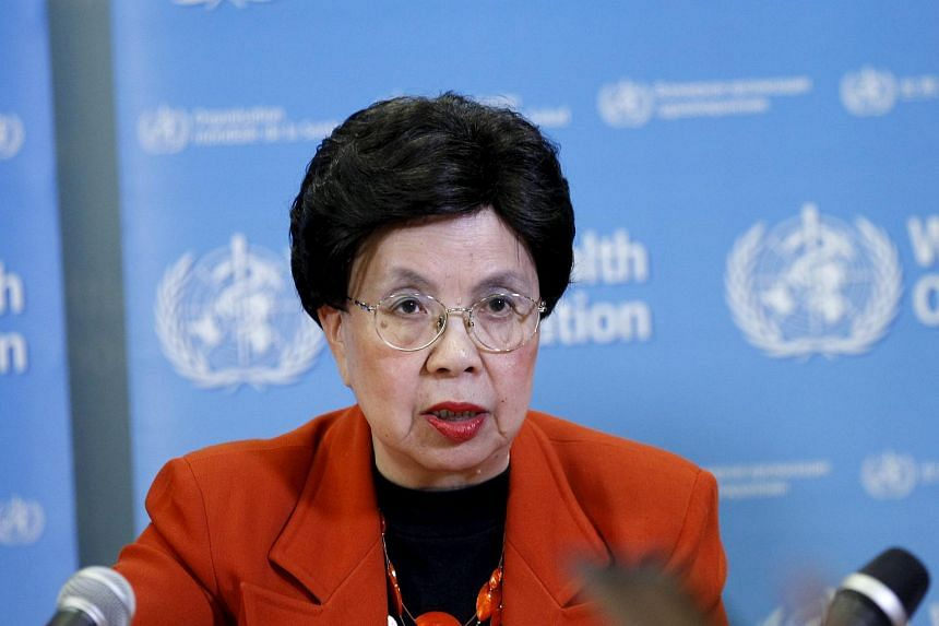 WHO Director-General Margaret Chan speaking during a news conference after the first meeting of the IHR Emergency Committee concerning the Zika virus on Feb 1, 2016.
