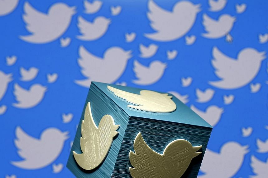 Twitter shares were up more than 8 per cent to US$18.15.