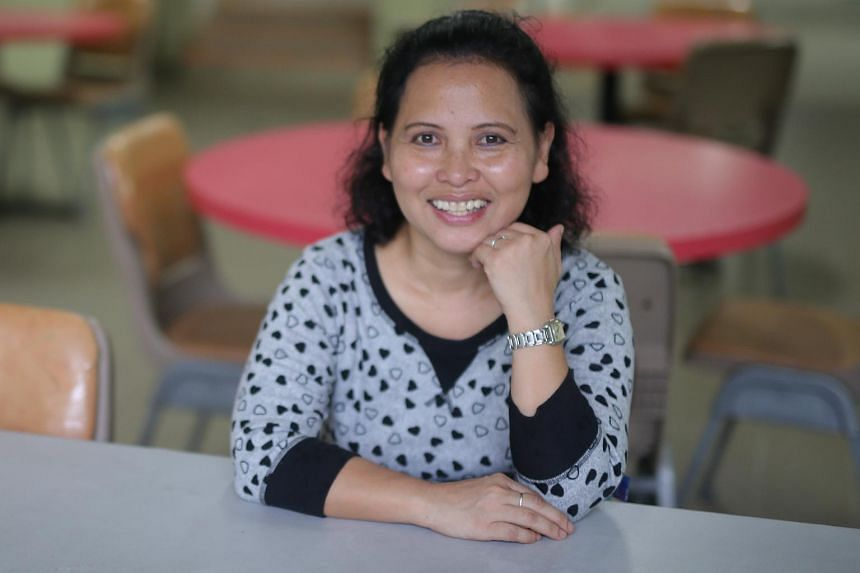 Madam Noriza was announced as the first Straits Times Singaporean of the Year.