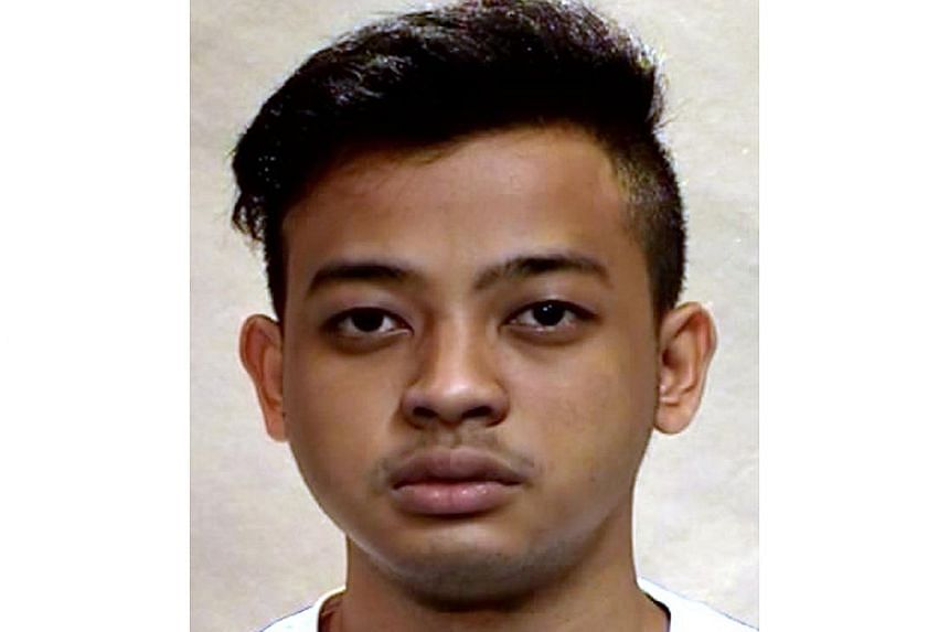 Muhammad Shazwan Sapuwan was jailed 18 years and ordered to be caned 15 strokes after he pleaded guilty to rape, oral sex, outrage of modesty and extortion.