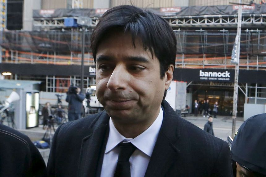 Former celebrity radio host Jian Ghomeshi arrives for his first day of court in Toronto on Monday.