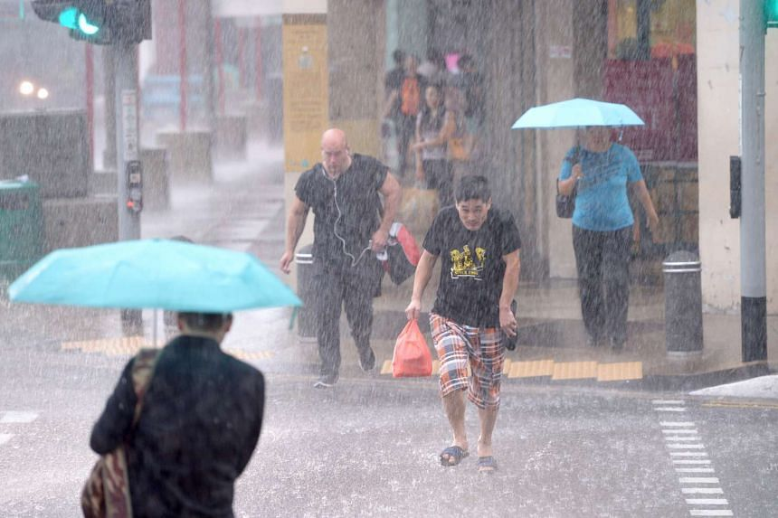 A monsoon surge is expected to hit the region, with short-duration thundery showers expected in the afternoons.