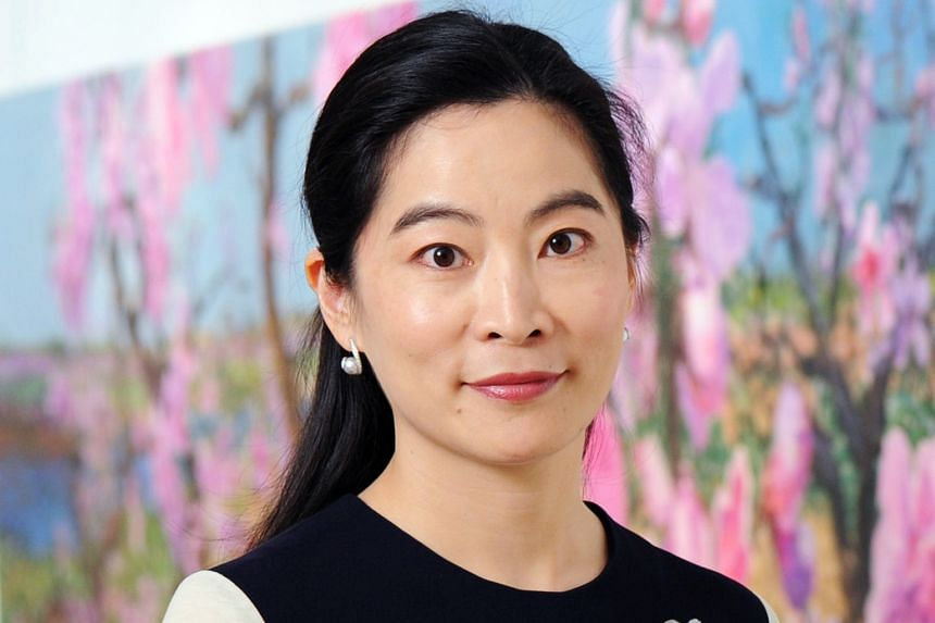Ms Rebecca Wei, president of Christie's Asia.