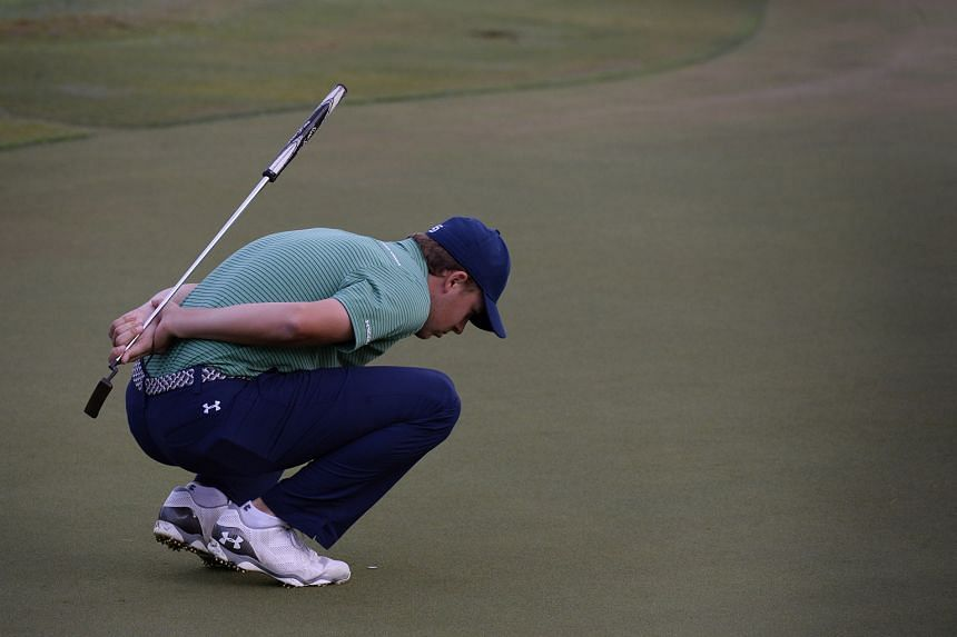 The final-day drama began with Jordan Spieth holing his final shot, a birdie at the 18th, to close the gap on leader Song Young Han to one stroke.