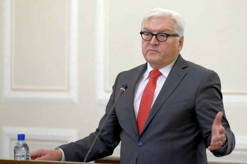 German Foreign Minister Frank-Walter Steinmeier says that Iranian President Hassan Rouhani is welcomed to visit Germany.