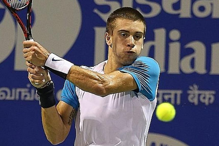 (Left) Borna Coric and (right) Dominic Thiem were earmarked by Novak Djokovic as having top-10 potential, but they continue to fall short.