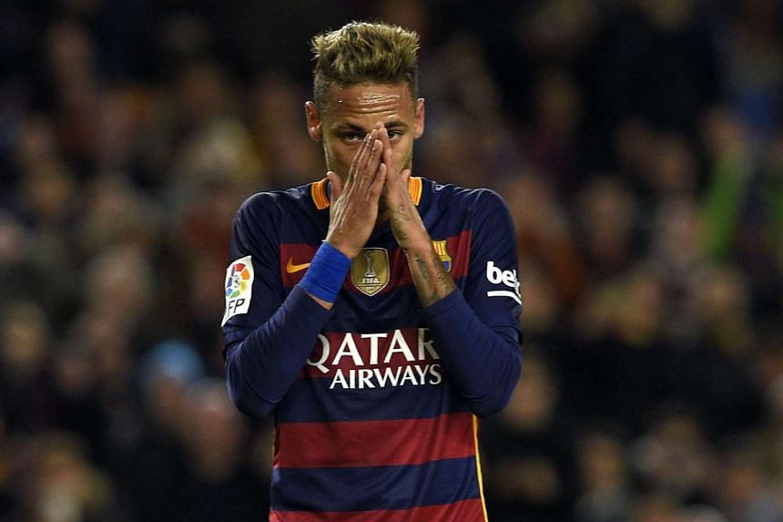 """Brazilian investment group DIS claimed that they felt """"betrayed"""" by Neymar's (above) transfer to Barcelona."""