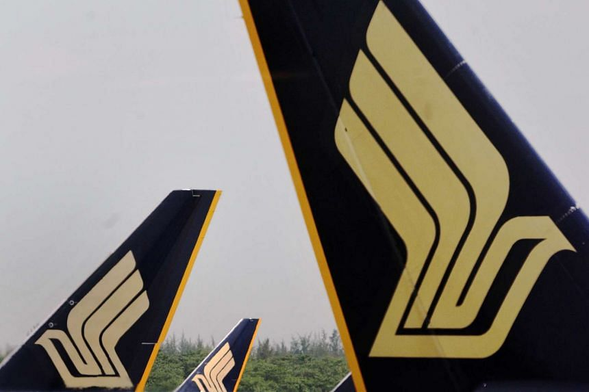 Singapore Airlines reported an operating profit of $288 million for the October-December quarter.