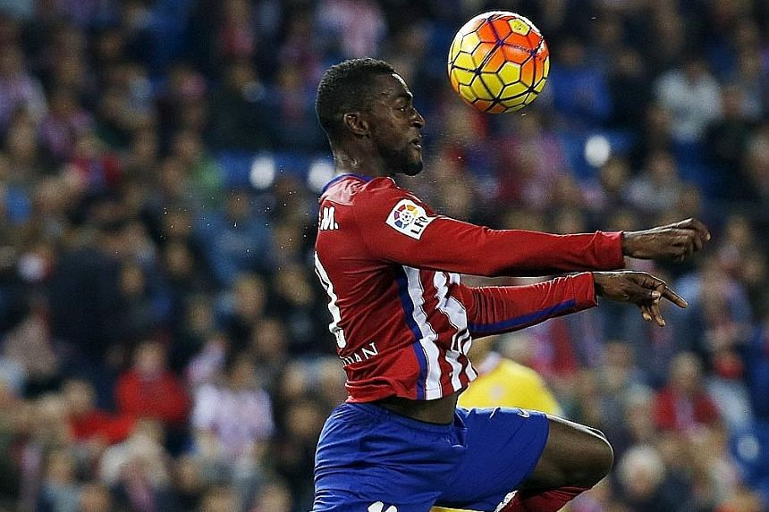 Jackson Martinez in action for former club Atletico Madrid, where he struggled with just two goals in 15 La Liga games. However, he was impressive during his stint at Porto, scoring 92 goals in 133 games.