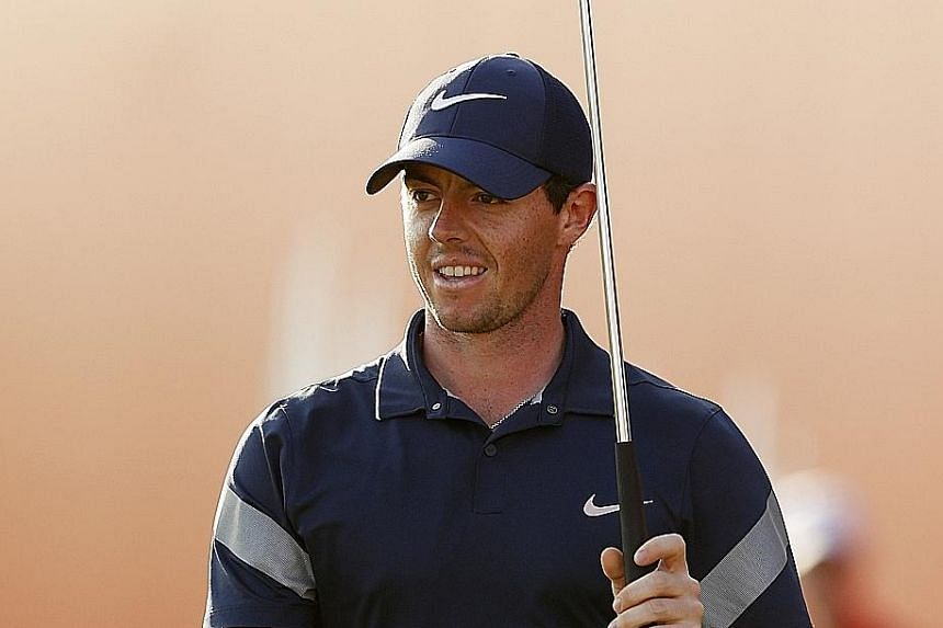 Rory McIlroy is in fine fettle as he bids to win back-to-back titles at the Dubai Desert Classic this week.