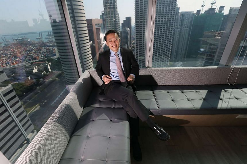 Mr Lee Chee Koon, chief executive officer of The Ascott Limited.