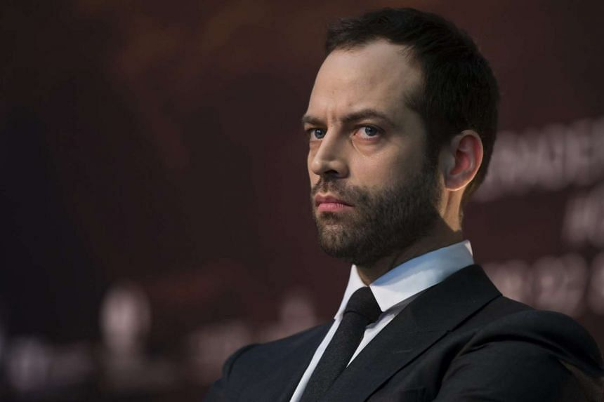 Benjamin Millepied during a news conference in February 2015.