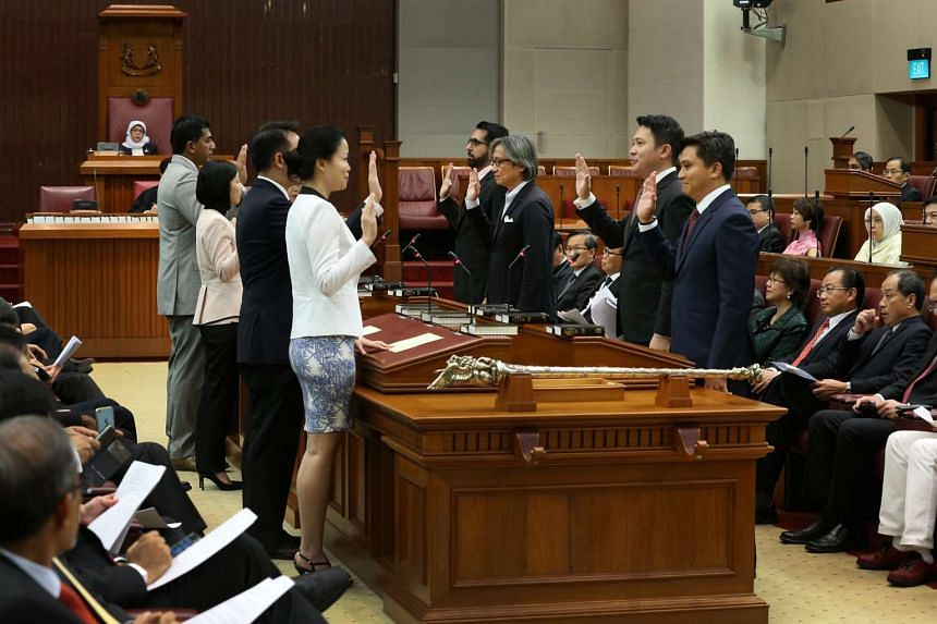 MPs, including 21 fresh faces, were sworn in at the opening of Parliament on Jan 15, 2016.
