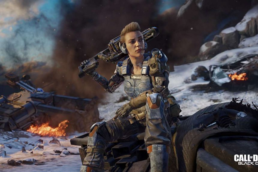 A shooter prepares to reek mayhem in this screenshot of Call of Duty.