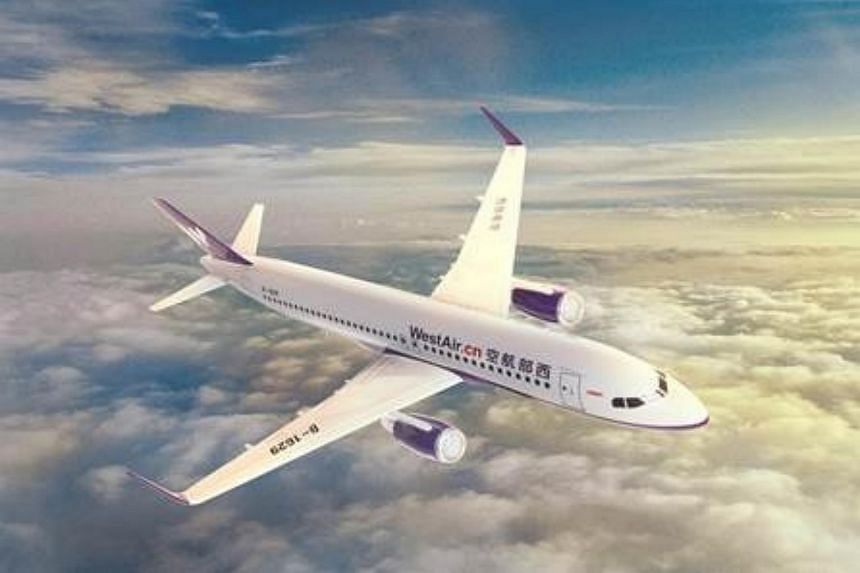 West Air's new Chongqing-Singapore flights will be operated on a 180-seater Airbus A320-200.