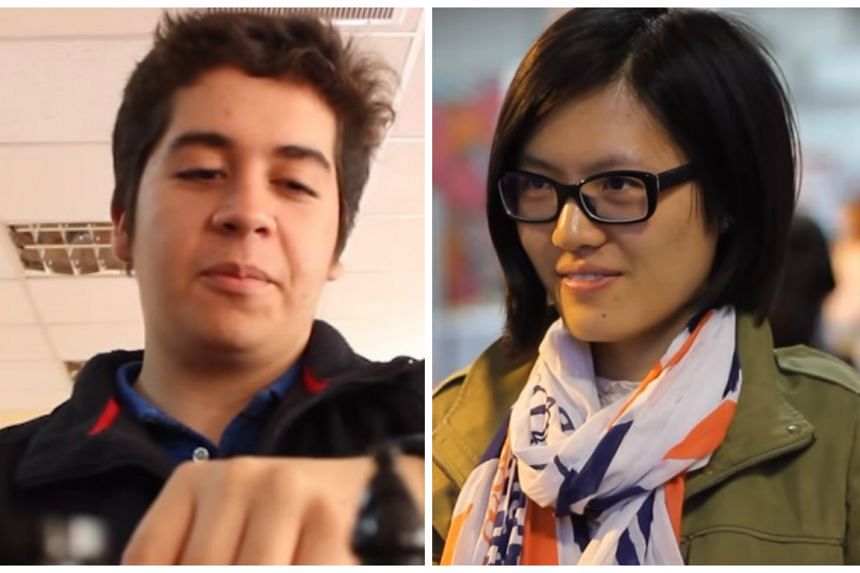 The match will be between Chilean grandmaster Cristobal Henriquez (left) and former world champion Hou Yifan of China.