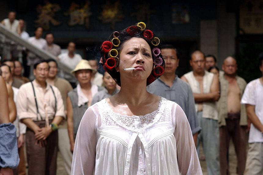 A still from the movie Kungfu Hustle.