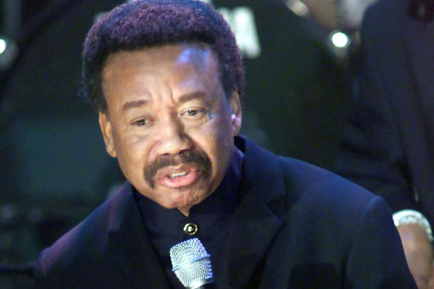 Maurice White at the 15th annual Rock and Roll Hall of Fame induction dinner in New York in 2000.