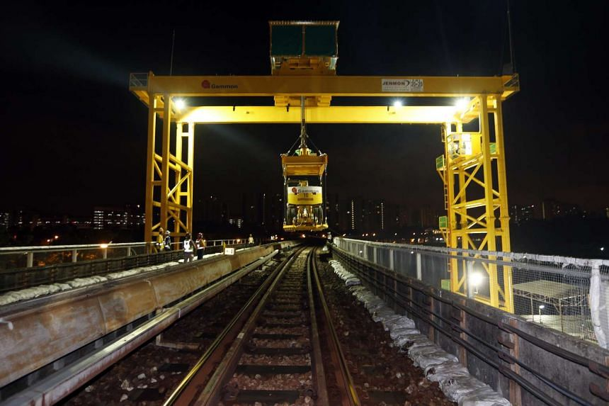 The cranes allow road rail vehicles to be deployed more quickly, allowing more sleepers to be replaced.
