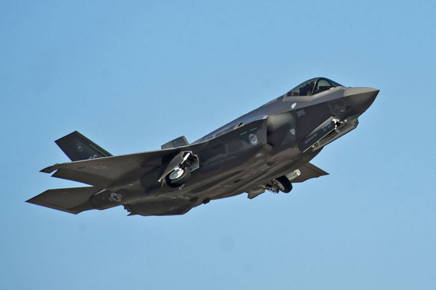 In the latest blow, engineers uncovered a slew of flaws during extensive testing of the newest versions of the F-35 fighter jet, adding to issues that include technical glitches and cost overruns. (Above) An F-35A Lightning II taking off at Eglin Air Forc