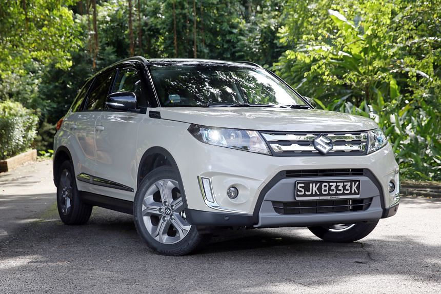The new Suzuki Vitara is more compact than older models and looks chic and urbane.