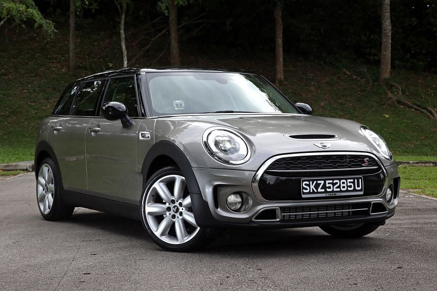 The new Clubman is a spacious Mini that is also fun to drive.