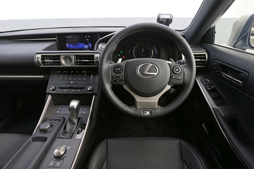 The Lexus IS is now a more sporty and efficient machine.