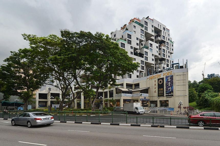 Balestier Point, which was completed in 1986, has 68 residential and 51 commercial units. A 1,119 sq ft apartment on the ninth floor went for about $1 million or $900 psf last month.