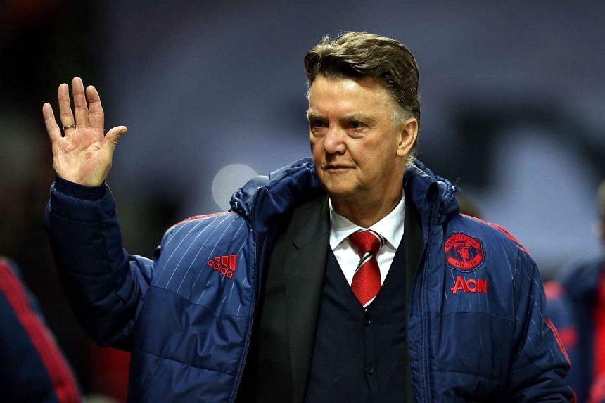 Van Gaal (above) believes a victory at Chelsea on Sunday would set United up for a late challenge to the top four clubs.
