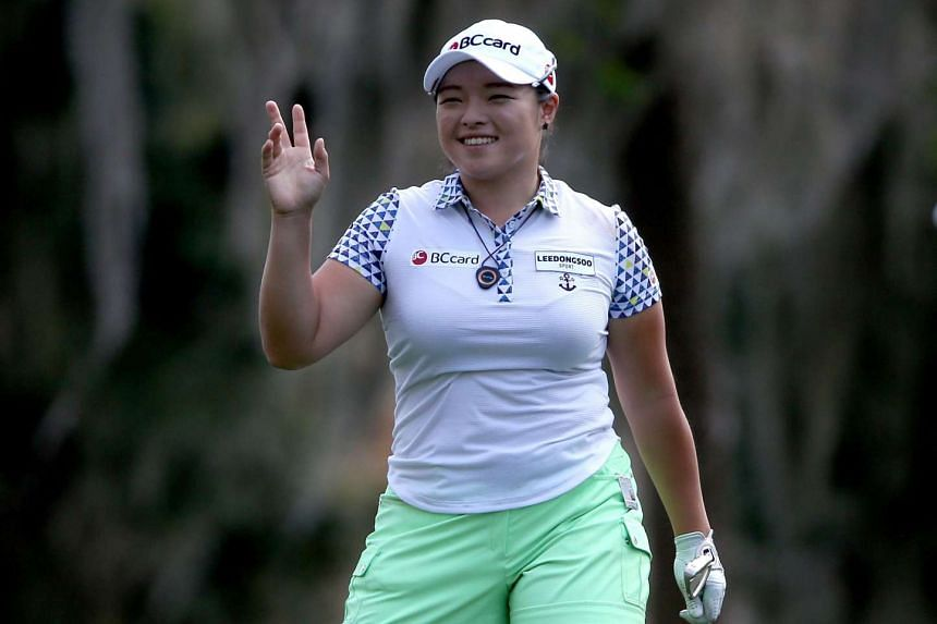 Jang fired a par-72 Friday morning to stand on seven-under par 137 after 36 holes.