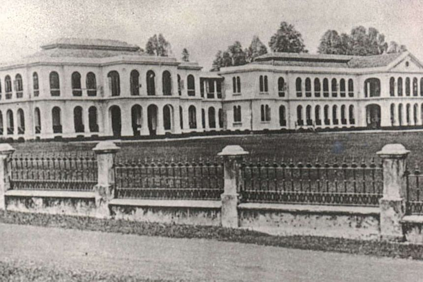 The Singapore General Hospital in 1919.