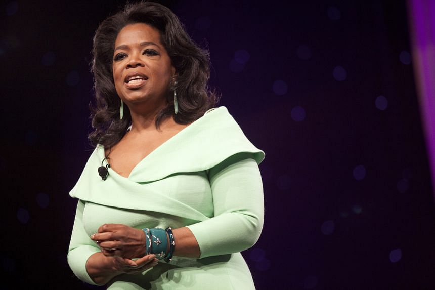 "Oprah Winfrey has bought a 10 per cent stake in Weight Watchers, claiming that ""inside every overweight woman is a woman she knows she can be""."