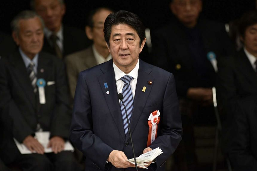 """Japanese Prime Minister Shinzo Abe has said that North Korea's missile launch is a """"clear violation of UN Security Council Resolutions""""."""