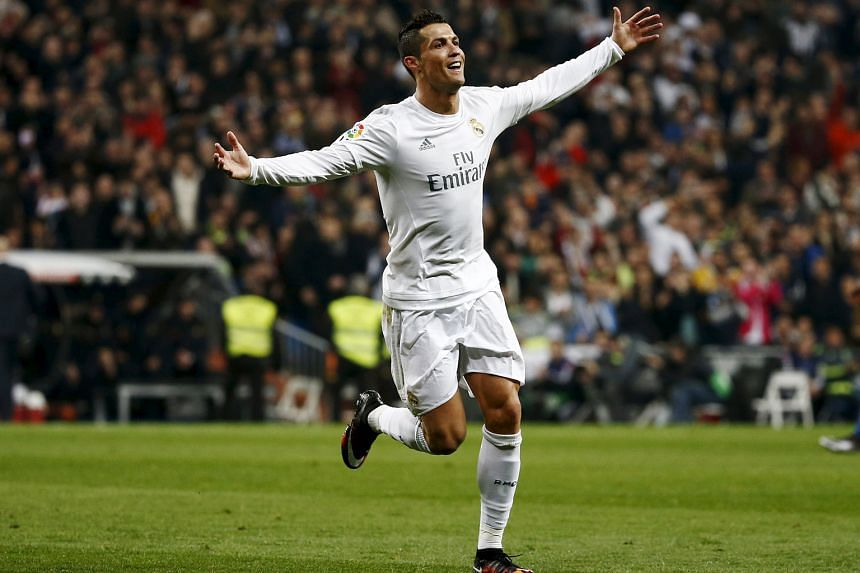 Real Madrid star Cristiano Ronaldo celebrating one of his 30 goals this season. The jury is still out on his ability to deliver in the big games.