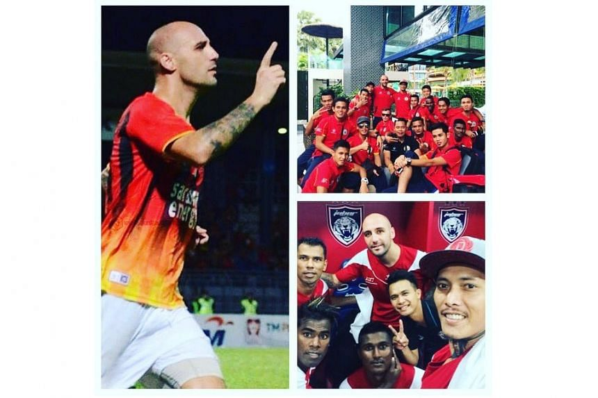 Billy Mehmet will be joining the Tampines Rovers after a stint at Sarawak.