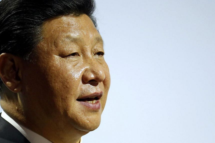 Chinese President Xi Jinping delivers a speech during the World Climate Change Conference 2015 (COP21) at Le Bourget, near Paris, France, on Nov 30, 2015.