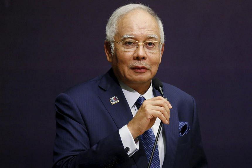Malaysia's Prime Minister Najib Razak speaks at the opening of the International Conference on Deradicalisation and Countering Violent Extremism in Kuala Lumpur, Malaysia, on Jan 25, 2016.