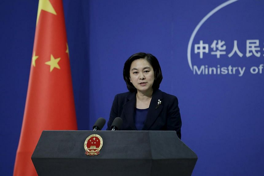 Spokesman of China's Foreign Ministry Hua Chunying speaks at a regular news conference in Beijing, China, on Jan 6, 2016.