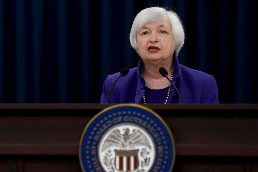 US Federal Reserve chairman Janet Yellen addresses lawmakers this week in Washington.