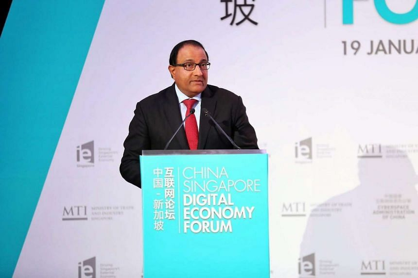 The government will continue to support small and medium-sized enterprises, said Minister for Trade and Industry S. Iswaran.