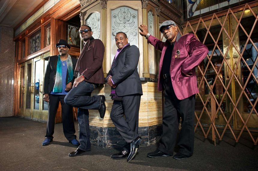 Kool & The Gang comprise (from left) Ronald Bell, George Brown, Robert Bell and Dennis Thomas.