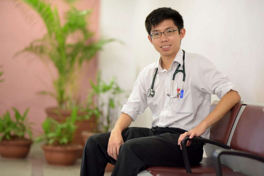 Dr Edmund Neo, 26, was among those who took up a pre-employment grant in 2013 and returned home in September last year, after he graduated from King's College London.
