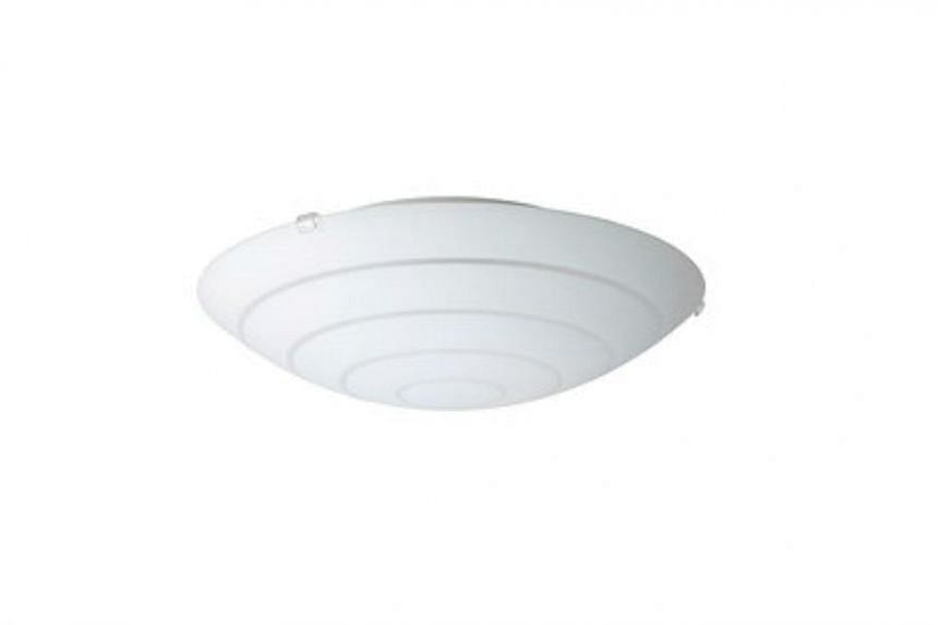 The Ikea HYBY ceiling lamp is one of the three models being recalled.