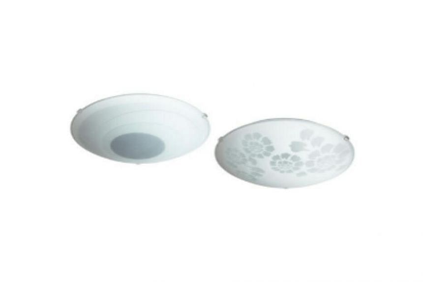 The Ikea RINNA ceiling lamp is one of the three models being recalled. It is not sold in Singapore.