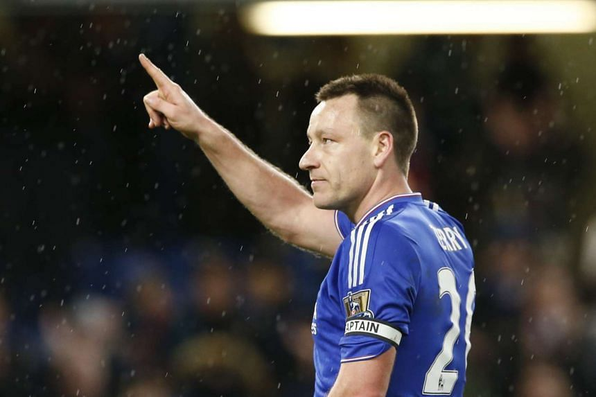 Chelsea's John Terry after the match on Feb 7, 2016.