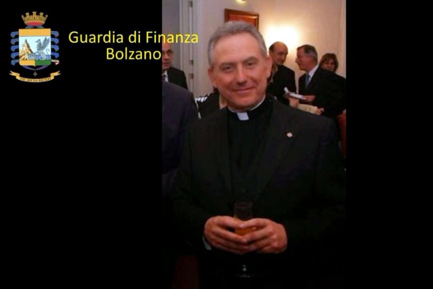 Monsignor Patrizio Benvenuti has been placed under house arrest for allegedly defrauding elderly people of millions of euros.