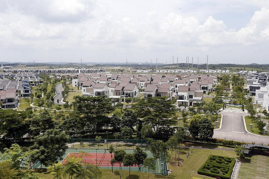 Private properties in Iskandar's Nusajaya, a zone where the 210ha Nusajaya Tech Park is located. Joint developers Ascendas and UEM Sunrise have almost fully sold its first batch of 21 ready-built facilities. A second batch will be completed by the en