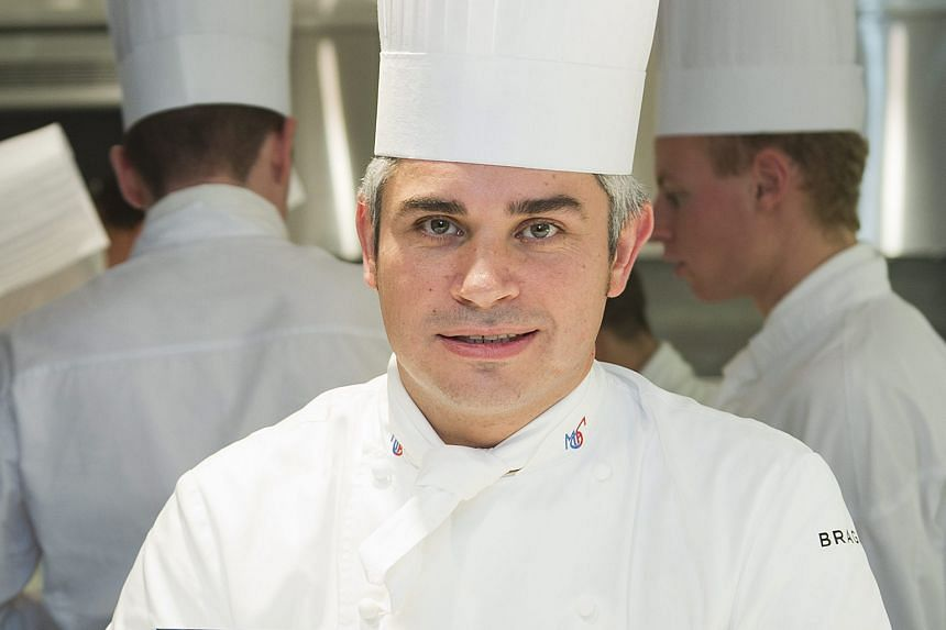 Chef Benoit Violier's (above) funeral in Switzerland last Friday was attended by many famous restaurateurs.