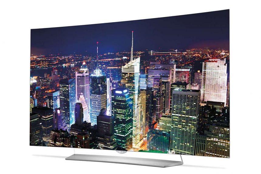 LG 4 55EG920T Television.